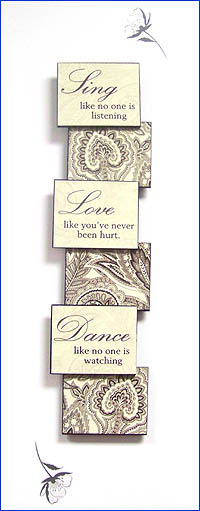 Sing Love Dance Sign